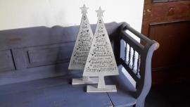 M92 Kerstboom met tekst groot  *
