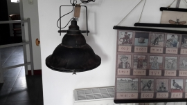 Kol29 Hanglamp ( glas aan de onderkant) groot