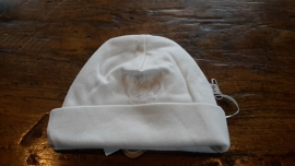 331-261 Baby mutsje off white