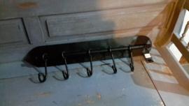 Bon134 Kapstok zwart ijzer