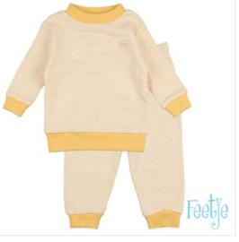 Wafel pyjama 305-532 Oker geel