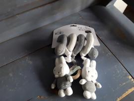 Bon331  Box/maxicosy Spiraal, Nijntje, zwart /wit