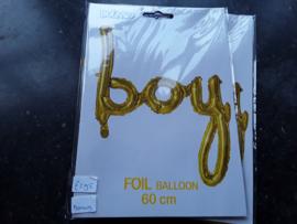 Bon419 Foil ballon gold BOY