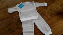 305-532 grijs wafel pyjama