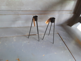 Kol56 Kandelaar, zwart