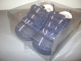 Schoentje blauw
