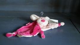 Fun11 tutdoekje hond roze