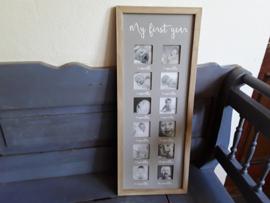 Bon337 Fotolijst baby's  1ste jaar
