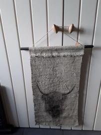 Nino68 Wandkleed hooglander