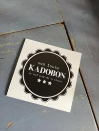 Kadobon neutraal