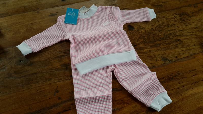 305-532 roze wafel pyjama