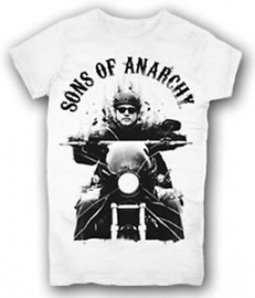 Sons of Anarchy - Jax On Motocycle T-shirt