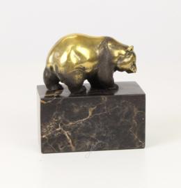 Bronzen Beeld Wandelende Panda