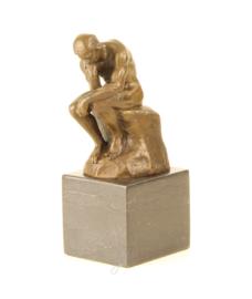 Bronzen Beeld De Denker