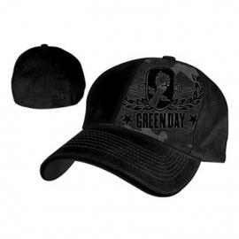 Green Day Camo Flex Cap