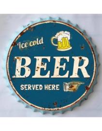 Beer Cap -  Ice Cold Beer