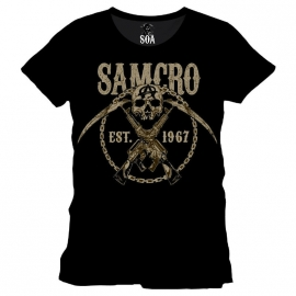 Sons of Anarchy - SAMCRO Skull & Chains T-shirt