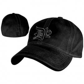 D12  Logo Black Flex Cap