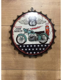 Beer Cap - Route 66 Just Ride It