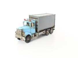 Metalen Model Container Truck