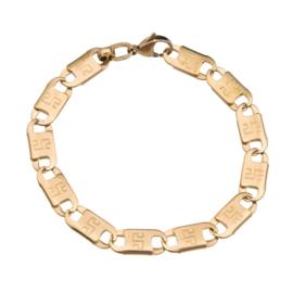 Konings armband edelstaal - 045