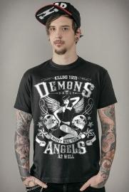Badly - Killing your Demons T-shirt - Black