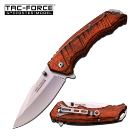 Tac Force Pakkawood Brown