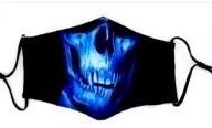 Mondkapje Wasbaar Skull