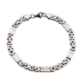 Konings armband edelstaal - 05-040