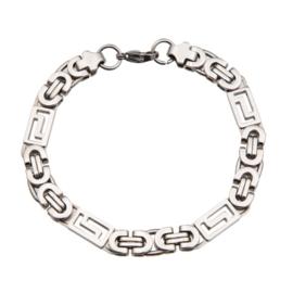 Konings armband edelstaal - 028