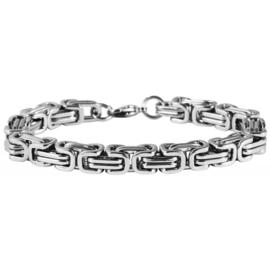Konings armband edelstaal - 0210