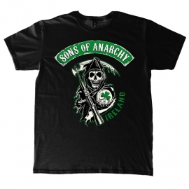 Sons of Anarchy- Ireland T-Shirt - Black