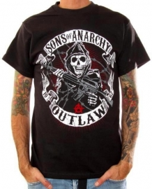 Sons of Anarchy - Outlaw Banner T-shirt