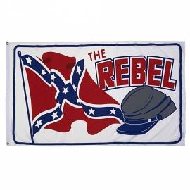 Vlag Rebel with cap