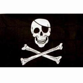 Vlag Piraat (Jolly Rogers)