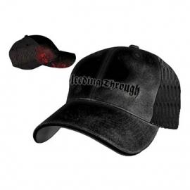 Bleedin Through-Black Meshback Cap