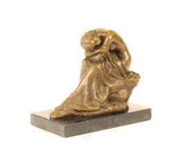 Bronzen Beeld Slapende Schoonheid