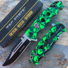 Tac Force Green Skull