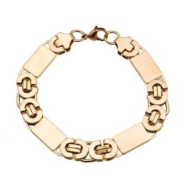 Konings armband edelstaal - 111