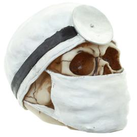 Schedel chirurg-wit