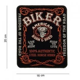 Embleem stof biker ( groot )