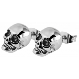 Skull Oorstekers  (paar)