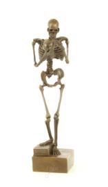 """Bronzen Beeld """"Death Contemplating"""""""