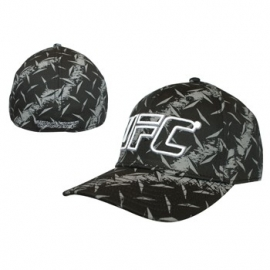 UFC Blackprinted Flex Cap