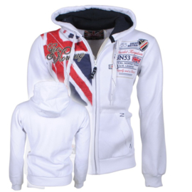 Geographical Norway - Vest met capuchon - Filty Men - Wit