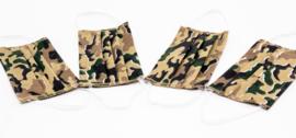 Wasbaar Mondkapje - Camouflage