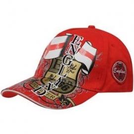 Engeland Baseball Cap Red