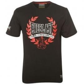 Everlast Classic T-Shirt  black/Red