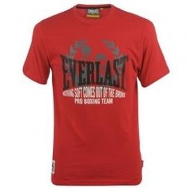 Everlast Classic  Heren T-Shirt Bright Red