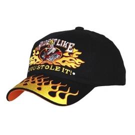 Baseball cap ride it like
